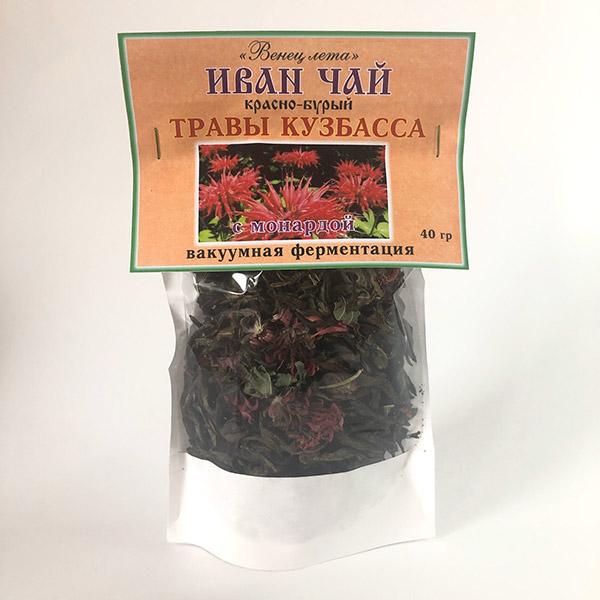 Фиточай Иван-чай (травы Кузбасса) листовой с монардой 40 г в Кемерово