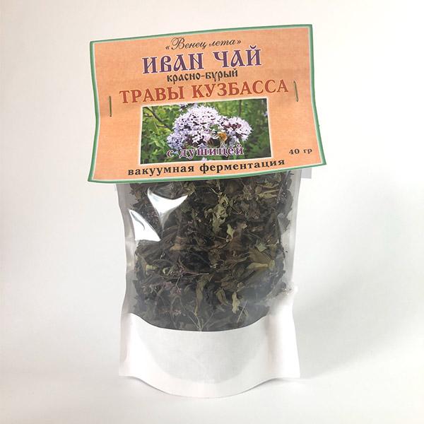 Фиточай Иван-чай (травы Кузбасса) листовой с душицей 40 г с доставкой в Кемерово