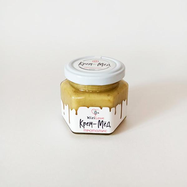 Крем-мед с прополисом 150 г в Кемерово